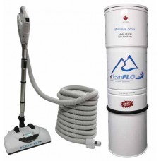 Cleanflo CF-400 Platinum series central Vacuum package