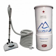 Cleanflo CF-100  platinum series CF-100 central vacuum package